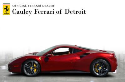 Used 2017 Ferrari 488 GTB Base Used 2017 Ferrari 488 GTB Base for sale Sold at Cauley Ferrari in West Bloomfield MI 9