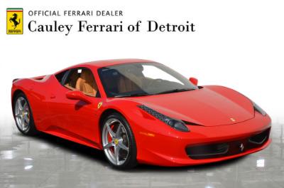 Used 2015 Ferrari 458 Italia Used 2015 Ferrari 458 Italia for sale Sold at Cauley Ferrari in West Bloomfield MI 4