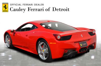 Used 2015 Ferrari 458 Italia Used 2015 Ferrari 458 Italia for sale Sold at Cauley Ferrari in West Bloomfield MI 8