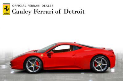 Used 2015 Ferrari 458 Italia Used 2015 Ferrari 458 Italia for sale Sold at Cauley Ferrari in West Bloomfield MI 9