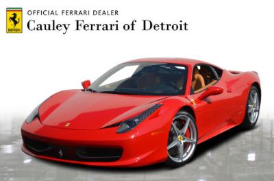 Used 2015 Ferrari 458 Italia Used 2015 Ferrari 458 Italia for sale Sold at Cauley Ferrari in West Bloomfield MI 1