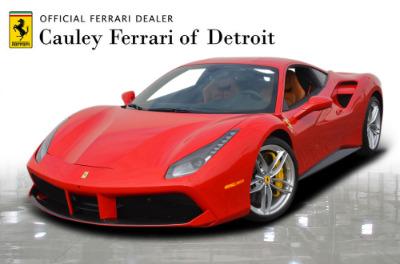 Used 2017 Ferrari 488 GTB Used 2017 Ferrari 488 GTB for sale $244,900 at Cauley Ferrari in West Bloomfield MI 1