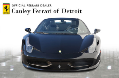 Used 2013 Ferrari 458 Spider Used 2013 Ferrari 458 Spider for sale $199,900 at Cauley Ferrari in West Bloomfield MI 3
