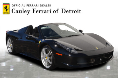 Used 2013 Ferrari 458 Spider Used 2013 Ferrari 458 Spider for sale $199,900 at Cauley Ferrari in West Bloomfield MI 4