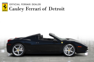Used 2013 Ferrari 458 Spider Used 2013 Ferrari 458 Spider for sale $199,900 at Cauley Ferrari in West Bloomfield MI 5