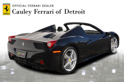 Used 2013 Ferrari 458 Spider Used 2013 Ferrari 458 Spider for sale $199,900 at Cauley Ferrari in West Bloomfield MI 6