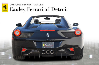 Used 2013 Ferrari 458 Spider Used 2013 Ferrari 458 Spider for sale $199,900 at Cauley Ferrari in West Bloomfield MI 7
