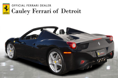 Used 2013 Ferrari 458 Spider Used 2013 Ferrari 458 Spider for sale $199,900 at Cauley Ferrari in West Bloomfield MI 8