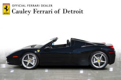 Used 2013 Ferrari 458 Spider Used 2013 Ferrari 458 Spider for sale $199,900 at Cauley Ferrari in West Bloomfield MI 9