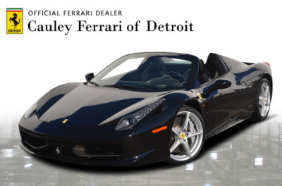 Used 2013 Ferrari 458 Spider Used 2013 Ferrari 458 Spider for sale $199,900 at Cauley Ferrari in West Bloomfield MI 1
