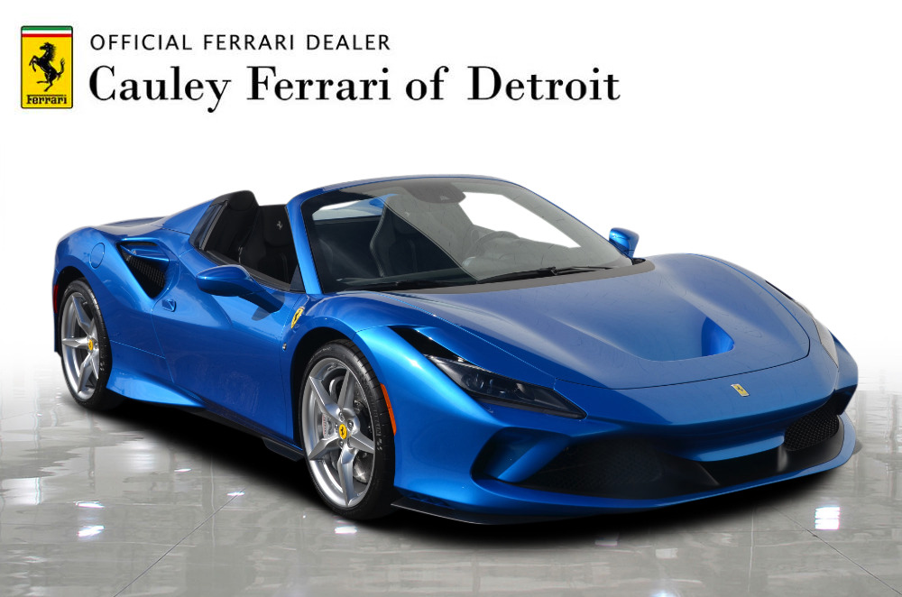 New 2021 Ferrari F8 Spider For Sale Special Pricing Cauley Ferrari Stock Fn2024