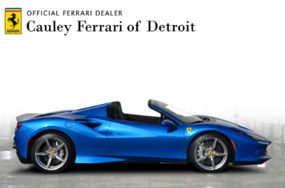 New 2021 Ferrari F8 Spider New 2021 Ferrari F8 Spider for sale Call for price at Cauley Ferrari in West Bloomfield MI 5