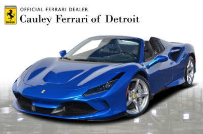 New 2021 Ferrari F8 Spider New 2021 Ferrari F8 Spider for sale Call for price at Cauley Ferrari in West Bloomfield MI 1