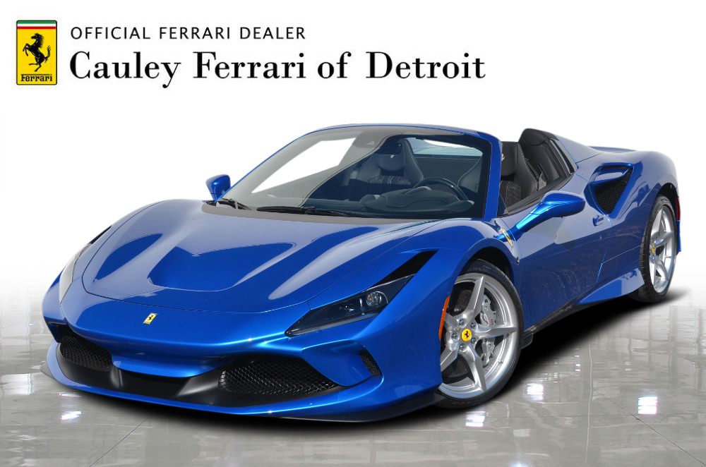 New 2021 Ferrari F8 Spider