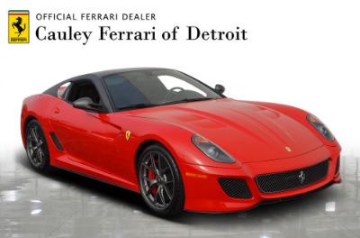 Used 2011 Ferrari 599 GTO Used 2011 Ferrari 599 GTO for sale Sold at Cauley Ferrari in West Bloomfield MI 4