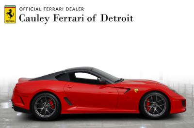 Used 2011 Ferrari 599 GTO Used 2011 Ferrari 599 GTO for sale Sold at Cauley Ferrari in West Bloomfield MI 5