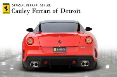 Used 2011 Ferrari 599 GTO Used 2011 Ferrari 599 GTO for sale Sold at Cauley Ferrari in West Bloomfield MI 7