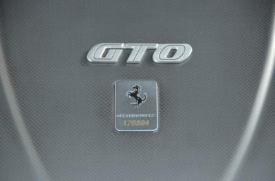 Used 2011 Ferrari 599 GTO Used 2011 Ferrari 599 GTO for sale Sold at Cauley Ferrari in West Bloomfield MI 76