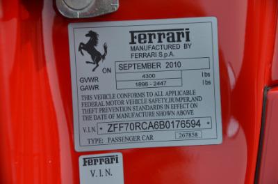 Used 2011 Ferrari 599 GTO Used 2011 Ferrari 599 GTO for sale Sold at Cauley Ferrari in West Bloomfield MI 82