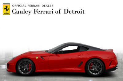 Used 2011 Ferrari 599 GTO Used 2011 Ferrari 599 GTO for sale Sold at Cauley Ferrari in West Bloomfield MI 9