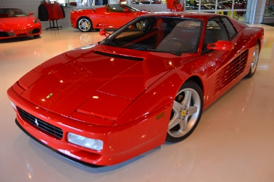 Used 1992 Ferrari 512 TR Used 1992 Ferrari 512 TR for sale Sold at Cauley Ferrari in West Bloomfield MI 3