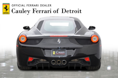 Used 2012 Ferrari 458 Italia Used 2012 Ferrari 458 Italia for sale $189,900 at Cauley Ferrari in West Bloomfield MI 4