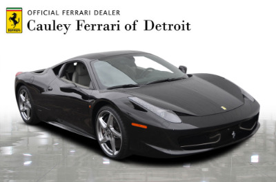 Used 2012 Ferrari 458 Italia Used 2012 Ferrari 458 Italia for sale $189,900 at Cauley Ferrari in West Bloomfield MI 5