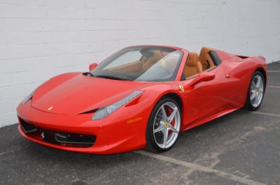 Used 2015 Ferrari 458 Spider Used 2015 Ferrari 458 Spider for sale $229,900 at Cauley Ferrari in West Bloomfield MI 10