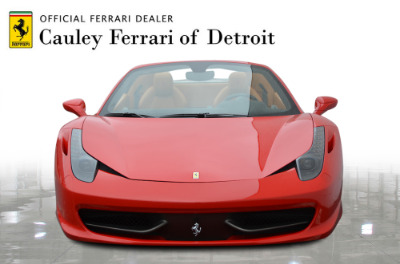 Used 2015 Ferrari 458 Spider Used 2015 Ferrari 458 Spider for sale $229,900 at Cauley Ferrari in West Bloomfield MI 3
