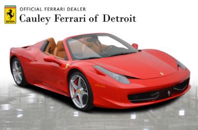Used 2015 Ferrari 458 Spider Used 2015 Ferrari 458 Spider for sale $229,900 at Cauley Ferrari in West Bloomfield MI 4