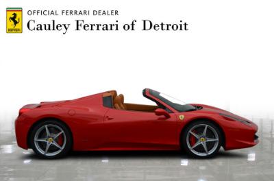 Used 2015 Ferrari 458 Spider Used 2015 Ferrari 458 Spider for sale $229,900 at Cauley Ferrari in West Bloomfield MI 5