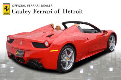 Used 2015 Ferrari 458 Spider Used 2015 Ferrari 458 Spider for sale $229,900 at Cauley Ferrari in West Bloomfield MI 6