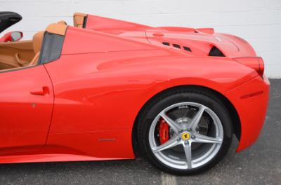 Used 2015 Ferrari 458 Spider Used 2015 Ferrari 458 Spider for sale $229,900 at Cauley Ferrari in West Bloomfield MI 75