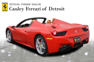 Used 2015 Ferrari 458 Spider Used 2015 Ferrari 458 Spider for sale $229,900 at Cauley Ferrari in West Bloomfield MI 8