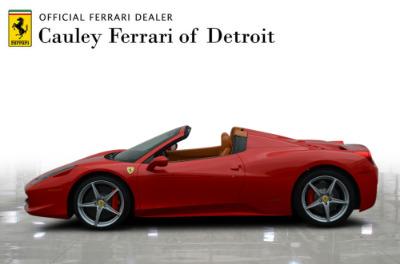 Used 2015 Ferrari 458 Spider Used 2015 Ferrari 458 Spider for sale $229,900 at Cauley Ferrari in West Bloomfield MI 9