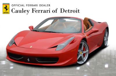 Used 2015 Ferrari 458 Spider Used 2015 Ferrari 458 Spider for sale $229,900 at Cauley Ferrari in West Bloomfield MI 1