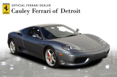 Used 1999 Ferrari 360 Modena Used 1999 Ferrari 360 Modena for sale Sold at Cauley Ferrari in West Bloomfield MI 4