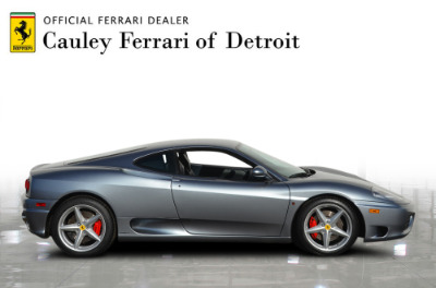Used 1999 Ferrari 360 Modena Used 1999 Ferrari 360 Modena for sale Sold at Cauley Ferrari in West Bloomfield MI 5