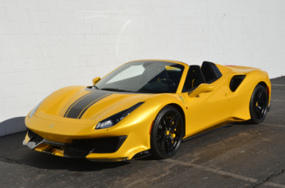 Used 2020 Ferrari 488 Pista Spider Used 2020 Ferrari 488 Pista Spider for sale Call for price at Cauley Ferrari in West Bloomfield MI 10