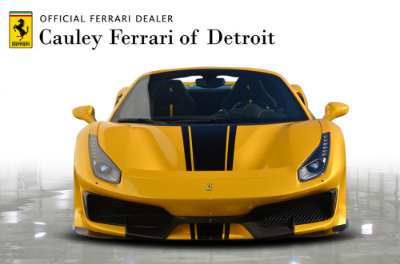 Used 2020 Ferrari 488 Pista Spider Used 2020 Ferrari 488 Pista Spider for sale Call for price at Cauley Ferrari in West Bloomfield MI 3