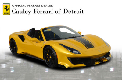 Used 2020 Ferrari 488 Pista Spider Used 2020 Ferrari 488 Pista Spider for sale Call for price at Cauley Ferrari in West Bloomfield MI 4