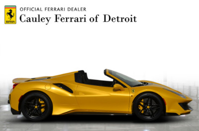 Used 2020 Ferrari 488 Pista Spider Used 2020 Ferrari 488 Pista Spider for sale Call for price at Cauley Ferrari in West Bloomfield MI 5