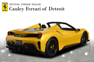 Used 2020 Ferrari 488 Pista Spider Used 2020 Ferrari 488 Pista Spider for sale Call for price at Cauley Ferrari in West Bloomfield MI 6