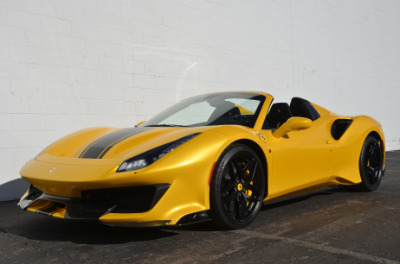 Used 2020 Ferrari 488 Pista Spider Used 2020 Ferrari 488 Pista Spider for sale Call for price at Cauley Ferrari in West Bloomfield MI 63