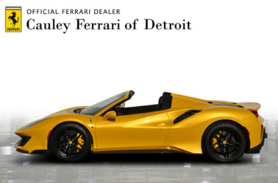 Used 2020 Ferrari 488 Pista Spider Used 2020 Ferrari 488 Pista Spider for sale Call for price at Cauley Ferrari in West Bloomfield MI 9