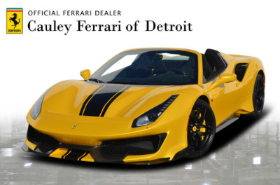 Used 2020 Ferrari 488 Pista Spider Used 2020 Ferrari 488 Pista Spider for sale Call for price at Cauley Ferrari in West Bloomfield MI 1