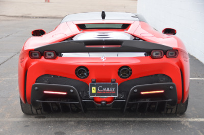 Used 2021 Ferrari SF90 Stradale Used 2021 Ferrari SF90 Stradale for sale Sold at Cauley Ferrari in West Bloomfield MI 11
