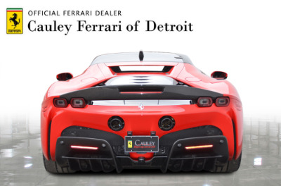 Used 2021 Ferrari SF90 Stradale Used 2021 Ferrari SF90 Stradale for sale Sold at Cauley Ferrari in West Bloomfield MI 3