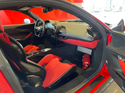 Used 2021 Ferrari SF90 Stradale Used 2021 Ferrari SF90 Stradale for sale Sold at Cauley Ferrari in West Bloomfield MI 46