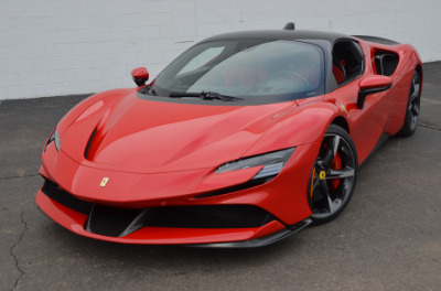 Used 2021 Ferrari SF90 Stradale Used 2021 Ferrari SF90 Stradale for sale Sold at Cauley Ferrari in West Bloomfield MI 54